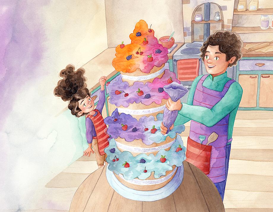Illustratie uit De lekkerste taart