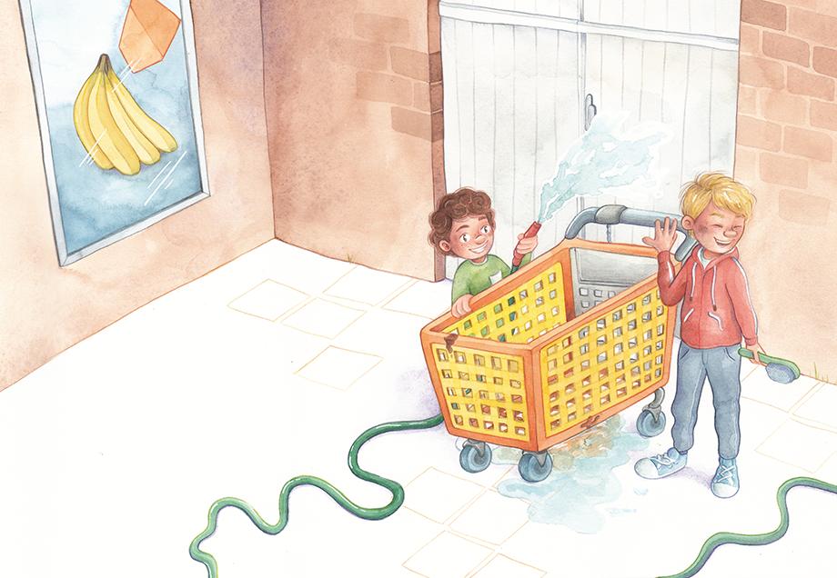 Illustratie uit Werk aan de winkel