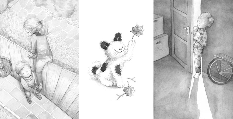 Illustraties uit Een plekje voor Koetje
